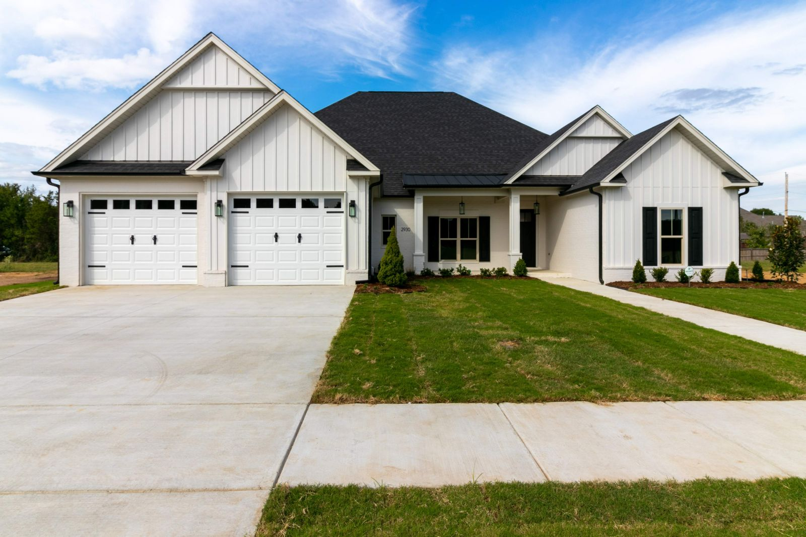 Home for sale that is under construction in Conway Arkansas